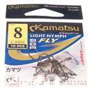 Haczyki Light Nymph 514600308 Kamatsu rozm 8