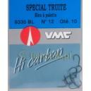 Haczyki VMC Okoń nr12 9335 BL